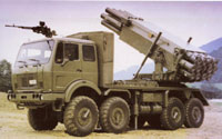 Click for MLRS M-87 'Orkan' larger image